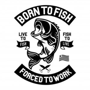 Other - Born to Fish Tee